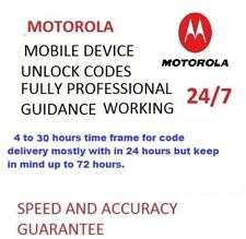 Unlock Code For Motorola C E G 4th 3rd Gen 4G G Moto G5 E3 O2 Tesco Vodafone EE