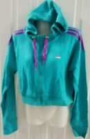 BRAND NEW ADIDAS RL CROP HOODY JACKET SIZE S