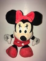 """Disney Red And White Minnie Mouse 9"""" Plush Stuffed Animal"""
