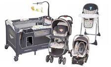 Baby Trend Stroller High Chair Car Seat Playard Crib Travel System Set