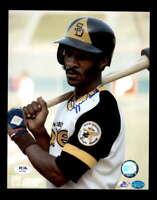 Ozzie Smith PSA DNA Coa Hand Signed 8x10 Padres Photo Autograph