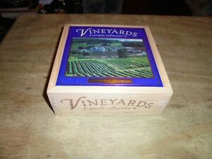 2003 Hasbro MB Vineyards Jigsaw Puzzle St. Preuil, France 750 Pieces Sealed