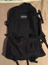 "Jansport Hiking Backpack Black Large 27"" Outdoors Camping"