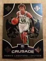 2019-20 Panini Chronicles Crusade #525 Romeo Langford Rookie Celtics