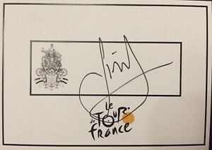 Simon Gerrans SIGNED Tour de France cycling card. Tour Down Under. Bike. Bicycle