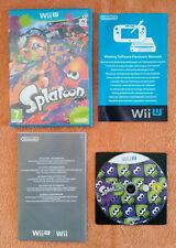 Splatoon Wii U / dvd zéro rayure
