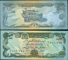 AFGHANISTAN billet neuf 50 AFGHANIS periode TALIBAN Pick 57a de 1979