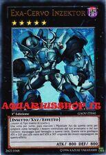 Yu-Gi-Oh! Exa-Cervo Inzektor 1° ED in ITALIANO GAOV-IT050 Inzektor Exa-Stag
