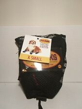 Muttluks X Small All Weather Dog Boots Fleece Lined Paw Protection Black *NEW*