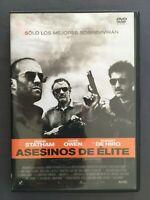 DVD ASESINOS DE ELITE Jason Statham Clive Owen Robert De Niro GARY McKENDRY