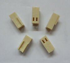 2 Pin Female Fan Connector Housing 2.54mm Pitch 5 Pack
