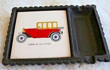 Aschenbecher - BMW - DIXI - 1928 - aus Gusseisen mit Keramik Fliese wie Neu