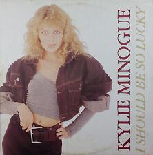 "12"" MAXI-Kylie Minogue-I should be così Lucky-k2156-Slavati & cleaned"