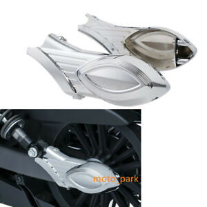 Chrome Rear Swingarm Axle Bolt Cover für Indian Scout Models 2015 2016 neu