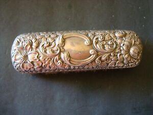 19th C. Gorham Art Nouveau REPOUSSE  Sterling Silver Clothes Brush, EUC