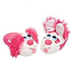 STOMPEEZ Kids Slippers - As Seen On TV - Pink Puppy Size Small
