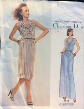 Christian Dior, Vogue Paris Original, Dress Vintage Pattern  1648, Size 14