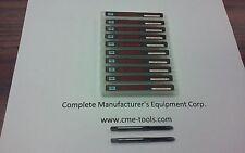 Spiral Point Taps 10pcs 6 32 Plug 2flute M3 High Speed Steel Spt 6 32 New