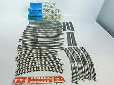 av796-2 #27x MÄRKLIN H0 / AC piezas de vía ( PISTA k ): 2110+2141+2151 etc., 3X