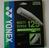 Yonex Tennis String Multi-Sensa 125, MTG125, 1.25 mm/16L GA, 12 m, Made in Japan
