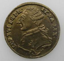 France jeton Louis XVI Rechenpfennig Felicitas Publicas