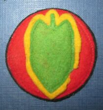 Patch US 24th infantry div.-Precoce c.1930