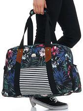 Roxy Anthracite-Swim Belharra Flower Sugar It Up - 29 Litre Womens Duffel Bag