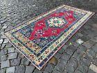 Bohemian rugs, Runner rug, Handmade rug, Turkish rug, Wool, Rug | 3,4 x 6,9 ft