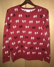 74c50fde37 Charter Club 21296 Bow-print Knit Womens Sweater 0x