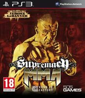 Supremacy MMA | Console Playstation 3 PS3, Jeu vendu en loose