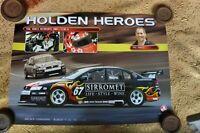 2005 #7  HOLDEN HEROES RACING POSTER SUPERCARS V8 PAUL MORRIS MOTORSPORT