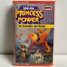"SHE-RA ""PRINCESS OF POWER"" GERMAN CASETTE #1 IM SCHATTEN DER KATZE"