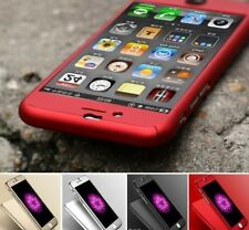 FULL COVER 3D iPhone 6 Plus 6S Plus Rot 360° Case Hülle Metallic Red Panzerfolie
