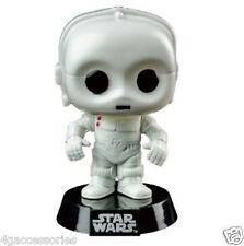 "Figura De Star Wars-K3-P0 Funko Pop Vinilo Bobble Head 55"" Blanco! Reino Unido"