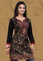 Indian Designer Crepe Silk Kurtis-Tunics for Women