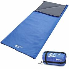 Active Era® Ultra Lightweight Sleeping Bag, Warm Weather Summer, Hiking, Camping