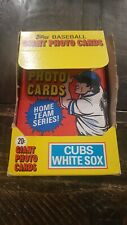 1981 Topps Giant Photo Cards White Sox/Cubs 30 Unopened Packs