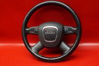 Audi A6 4F C6 Multifunzione 8P0419091AH Volante Pelle 4-Speichen Nero / KV1