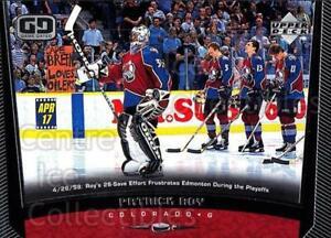 1998-99 Upper Deck #74 Patrick Roy