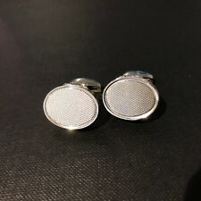 Hidden Erotic 18ct White Gold Cufflinks by Deakin and Francis
