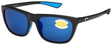 Costa Del Mar Cheeca солнцезащитные очки CHA-11 - obmp черный | голубые зеркальные 580P поляризованные
