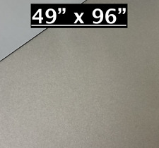 49 X 96 Pewter Aluminum Sheet Flat 030 Thick Cargo Trailer Repair Etc