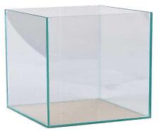 Aquarium 35x35x35cm Würfel Quadrat Cube Glasbecken 42 Liter transparent