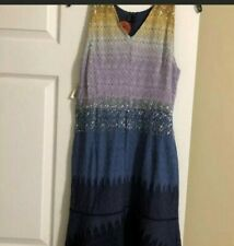 new with tags Missoni Women's Multi Color Dress Size 42 8