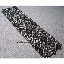 8 Drop Even Count Peyote Bead Pattern - Whirlygigs Cuff Bracelet