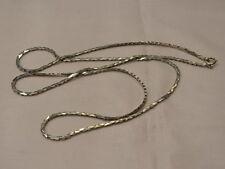 SR320-925er Silber kette lang 90 cm Breit 2,8 mm Gewicht 28,8 Gramm