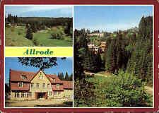 ALLRODE bei Thale Kr. Quendlinburg DDR Mehrbild-Postkarte Bungalow-Siedlung ua.