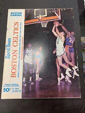 Boston Celtics Program 12/26/66 Vs LA Lakers