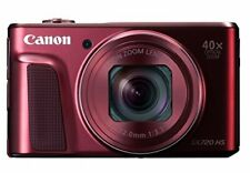 Canon PowerShot SX720 HS Red Digital Camera 20.3MP 40x Wi-Fi CMOS