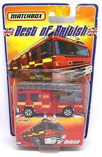 Dennis Sabre Fire Engine Matchbox Best of British Die-cast Model Toy Collectable